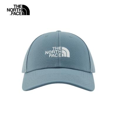 The North Face北面男女款淺藍色休閒運動帽|4VSVN7M