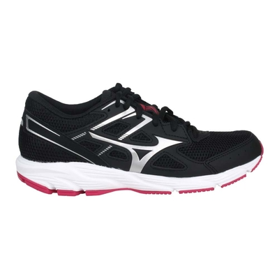 MIZUNO SPARK 6 女慢跑鞋-路跑 訓練 美津濃 K1GA210404 黑銀紅