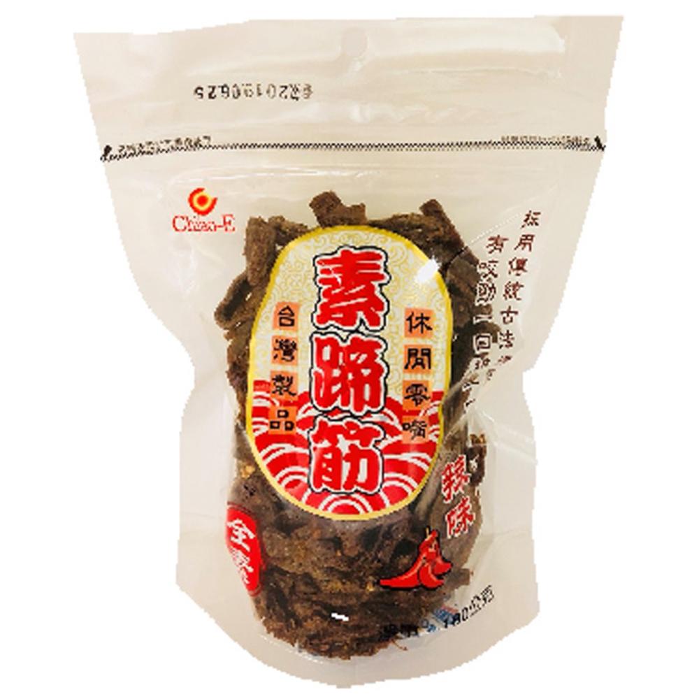 巧益 素蹄筋辣味_全素(180g)