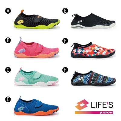 [時時樂限定] LOTTO 義大利 童 多功能水陸鞋(7款任選)