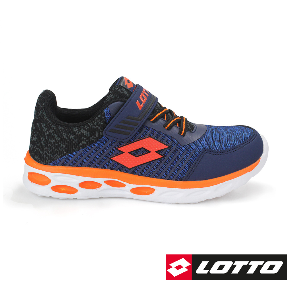 LOTTO 義大利 童 SUPERLIGHT 零重力輕量跑鞋(藍)