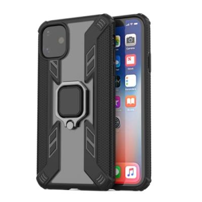 PKG Apple iPhone11 Pro 5.8吋保護殼(支援可搭配磁吸支架)-黑