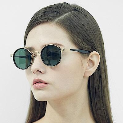 BVH 鈦合金圓框太陽眼鏡1618-RMA-01