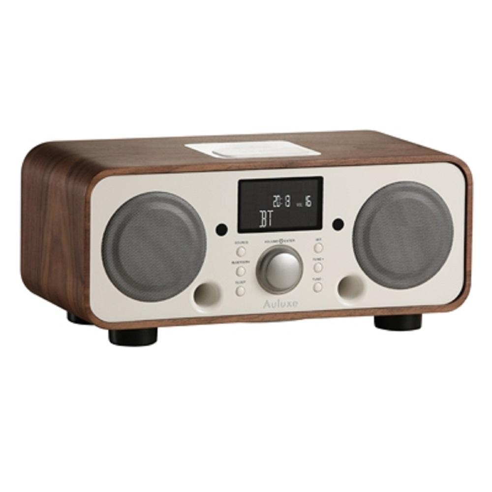 Auluxe 歐樂絲 New Breeze 木質 無線藍牙音響 (胡桃白色)