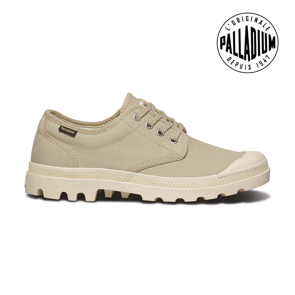 Palladium Pampa OX ORIGINALE帆布鞋-男-卡其