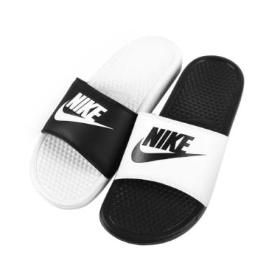 NIKE BENASSI JDI MISMATCH 男運動拖鞋-海邊 海灘 戲水 818736011 黑白