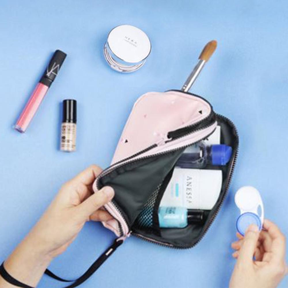 JIDA 時尚清新大容量可手挽證件護照收納包(3色)