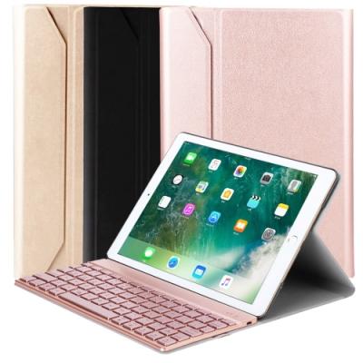 Powerway For iPad Air3/Pro10.5吋專用尊榮型二代分離式鋁合金超薄藍牙鍵盤/皮套