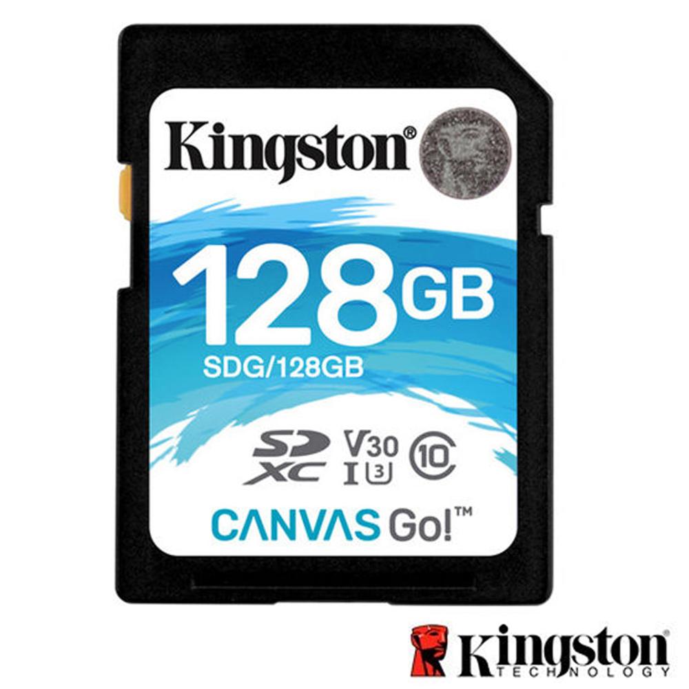Kingston 金士頓 128G U3 SDXC UHS-I V30 記憶卡 SDG @ Y!購物