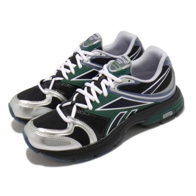 Reebok 慢跑鞋 Premier Road Plus 男鞋 輕量 透氣 舒適 避震 運動 反光 黑 銀 H03123