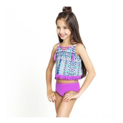 澳洲Sunseeker泳裝兒童抗UV防曬兩件式泳衣大女童5193022PEG
