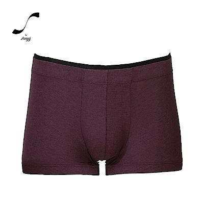 sloggi men  S  Sophistication系列合身平口褲 深紫紅
