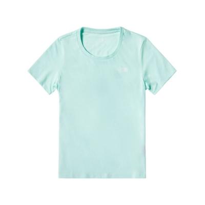 The North Face 女 吸濕排汗休閒短袖T恤 湖水綠-NF0A499OK29