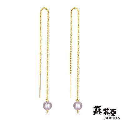 蘇菲亞SOPHIA - G LOVER系列直達珍心黃金耳環