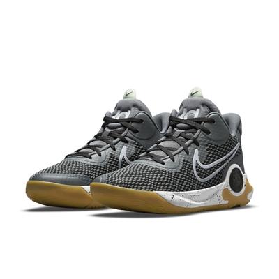 NIKE 籃球鞋 包覆 緩震 運動鞋 男鞋 黑灰 CW3402-003 KD Trey 5 IX EP