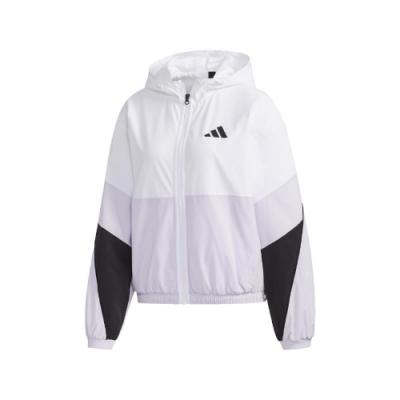 adidas 外套 WB Color Jacket 明星著用 女款