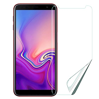 Xmart  for Samsung Galaxy J6+ 高透光亮面耐磨保護貼