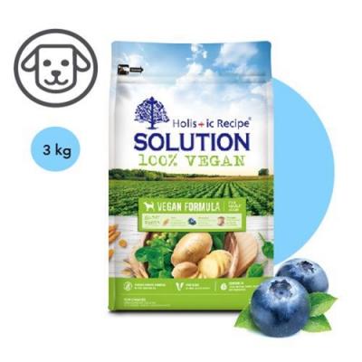 SOLUTION耐吉斯-維根成犬素食配方 6.6lbs(3kg) 兩包組