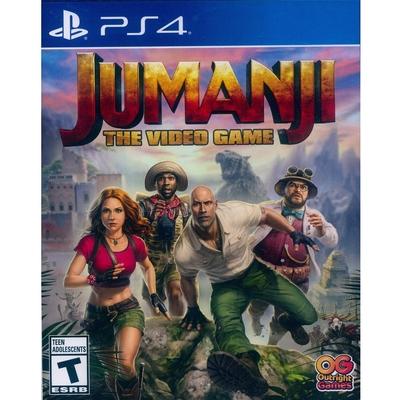野蠻遊戲:瘋狂叢林 Jumanji:The Video Game - PS4 英文美版