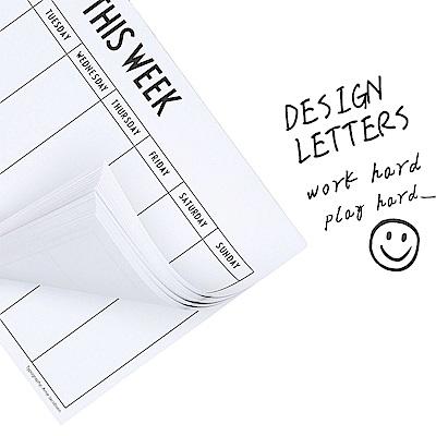Design Letters  週別計畫本