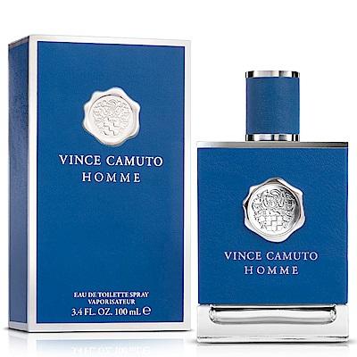 (即期品)VINCE CAMUTO HOMME 藍色地中海男性淡香水100ml