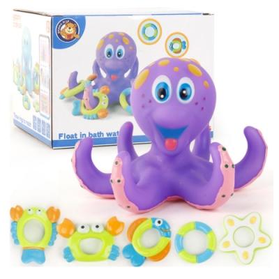 Joy toy 夏日孩童洗澡戲水玩具組(洗澡玩具)36m+