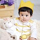 日安朵朵 男嬰連身衣 - MIT白馬王子 (長袖)(不含皇冠)