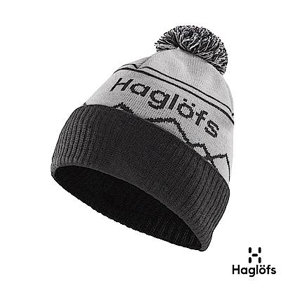 Haglofs Stipe羊毛保暖毛球帽 石灰/石板灰