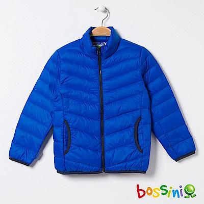 bossini童-高效熱能輕便羽絨外套01藍紫