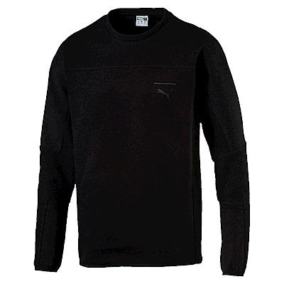 PUMA-男性流行系列Pace圓領衫-黑色-亞規