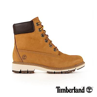 Timberland 女款小麥黃正絨面皮革LuciaWay靴 A1T6U