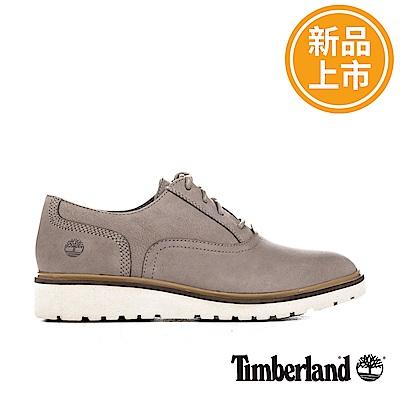Timberland 女款灰褐色磨砂革Ellis Street休閒鞋