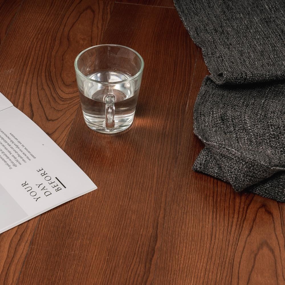 樂嫚妮 塑膠PVC仿木紋DIY地板貼 1.7坪-紅胡桃木