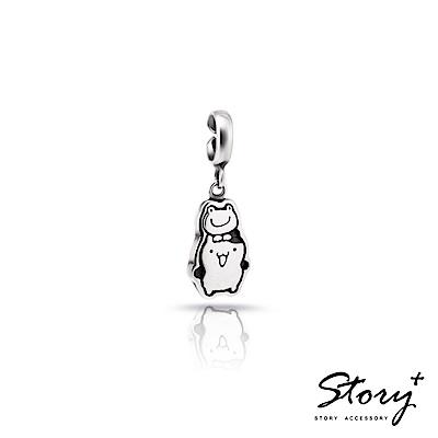 STORY故事銀飾-Purin Charm系列-薄荷馬芬扣扣掛飾
