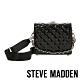 STEVE MADDEN-BCHRISSY 亮點漆面菱格手提斜背兩用包-黑色 product thumbnail 1