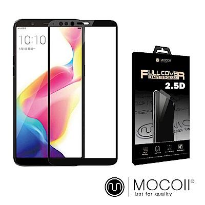 Mocoll - 2.5D 9H 鋼化玻璃膜 - Oppo R11s 專用 ( 黑色 )