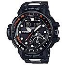 CASIO G-SHOCK潛水領航太陽能GPS運動腕錶/GWN-Q1000MC-1A