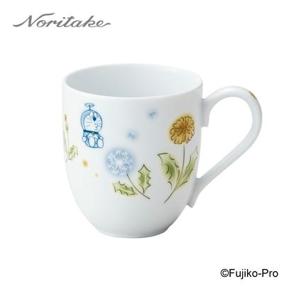 【NORITAKE】哆啦A夢-花卉系列 蒲公英馬克杯290ML