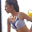 蕾黛絲-動氧Bra 高脊心無鋼圈 C-D罩杯運動內衣(輕氧紫)