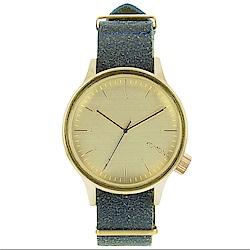 KOMONO Magnus Vintage 腕錶-藍調/46mm
