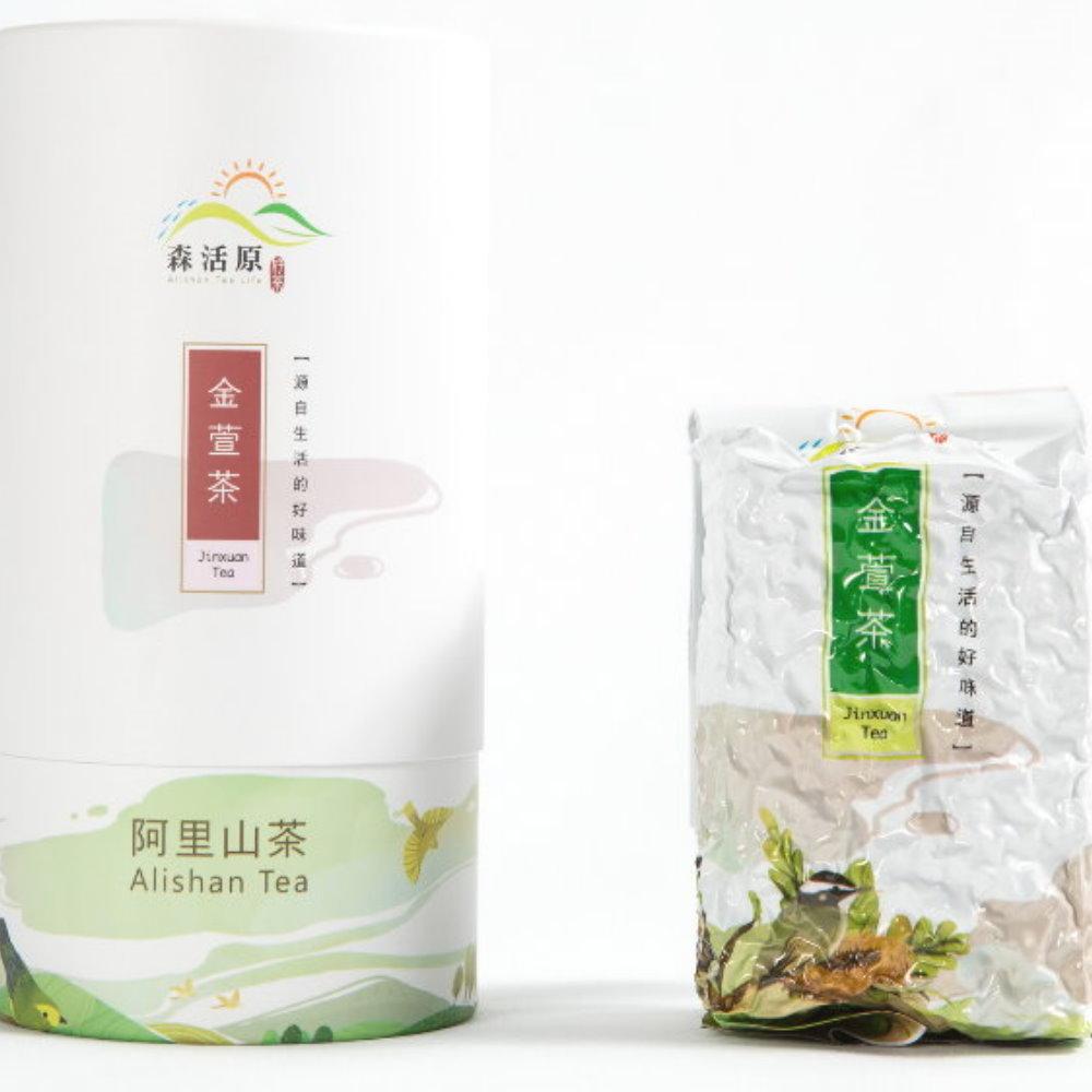 森活原-阿里山高山金萱茶150G/罐裝