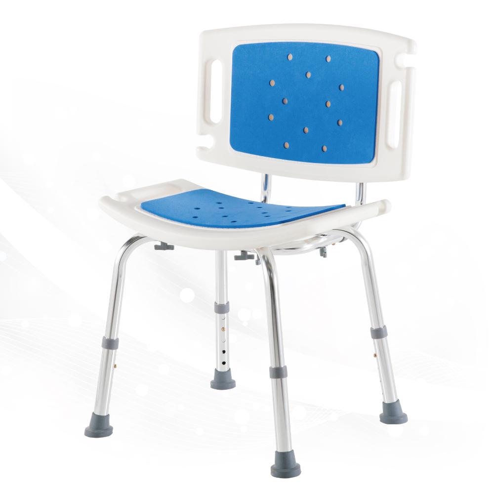 必翔銀髮 輕便背靠式軟墊洗澡椅-YK-3030-1