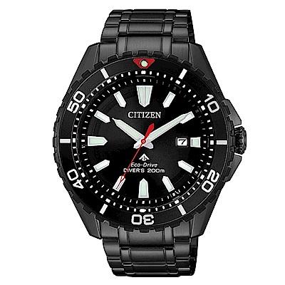CITIZEN 星辰PROMASTER 深海潛水200米手錶(BN0195-54)