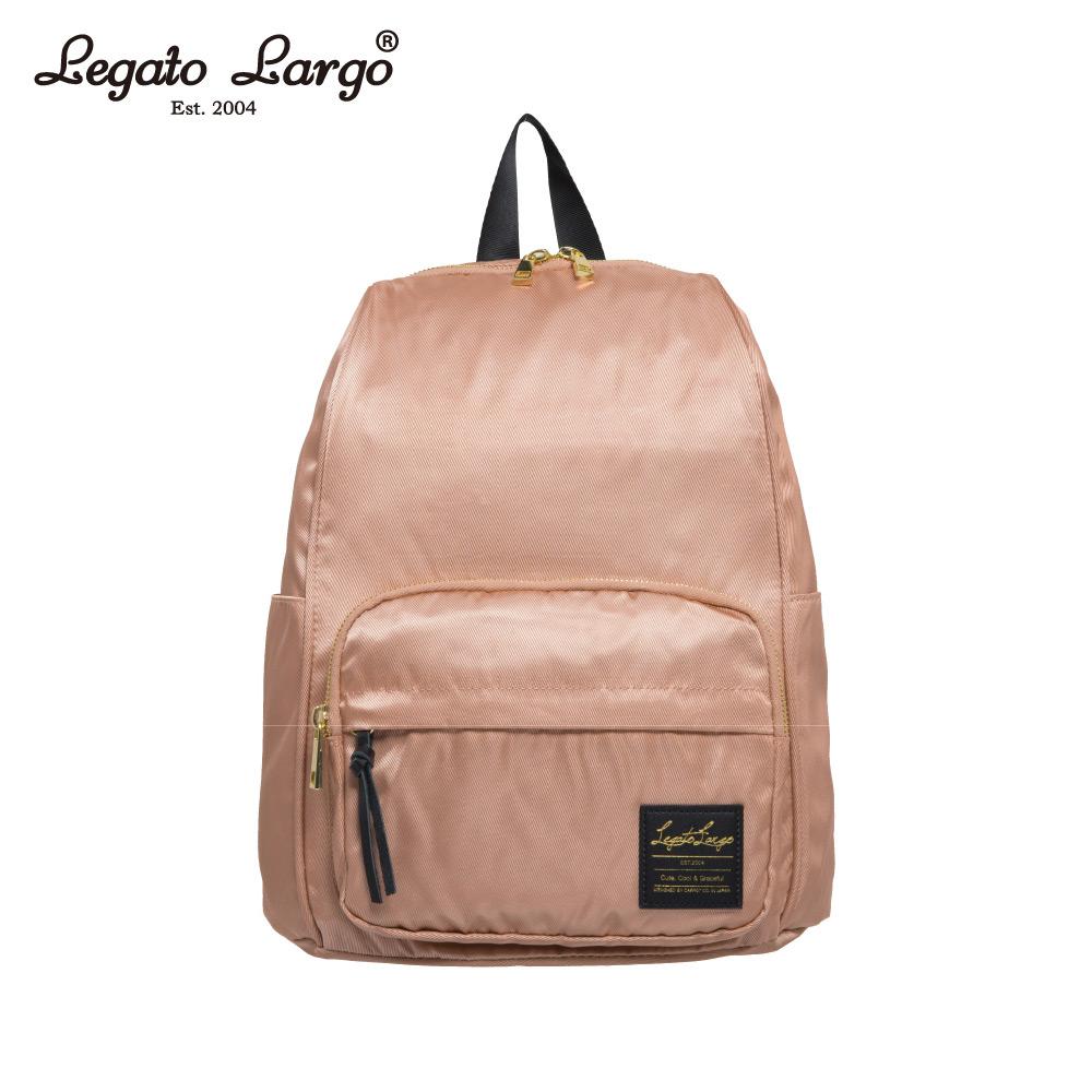 Legato Largo 防潑水簡約後背包-粉 LT-C2151PBE