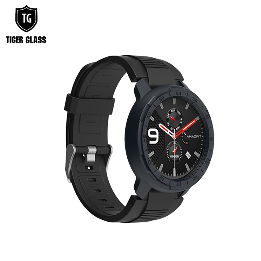 T.G 華米 Amazfit GTR 47mm 炫彩全包覆保護殼-9色(華米專用保護殼 手錶殼 錶殼)