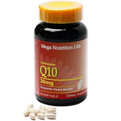 美國Mega 輔酵素Q10軟膠囊60顆
