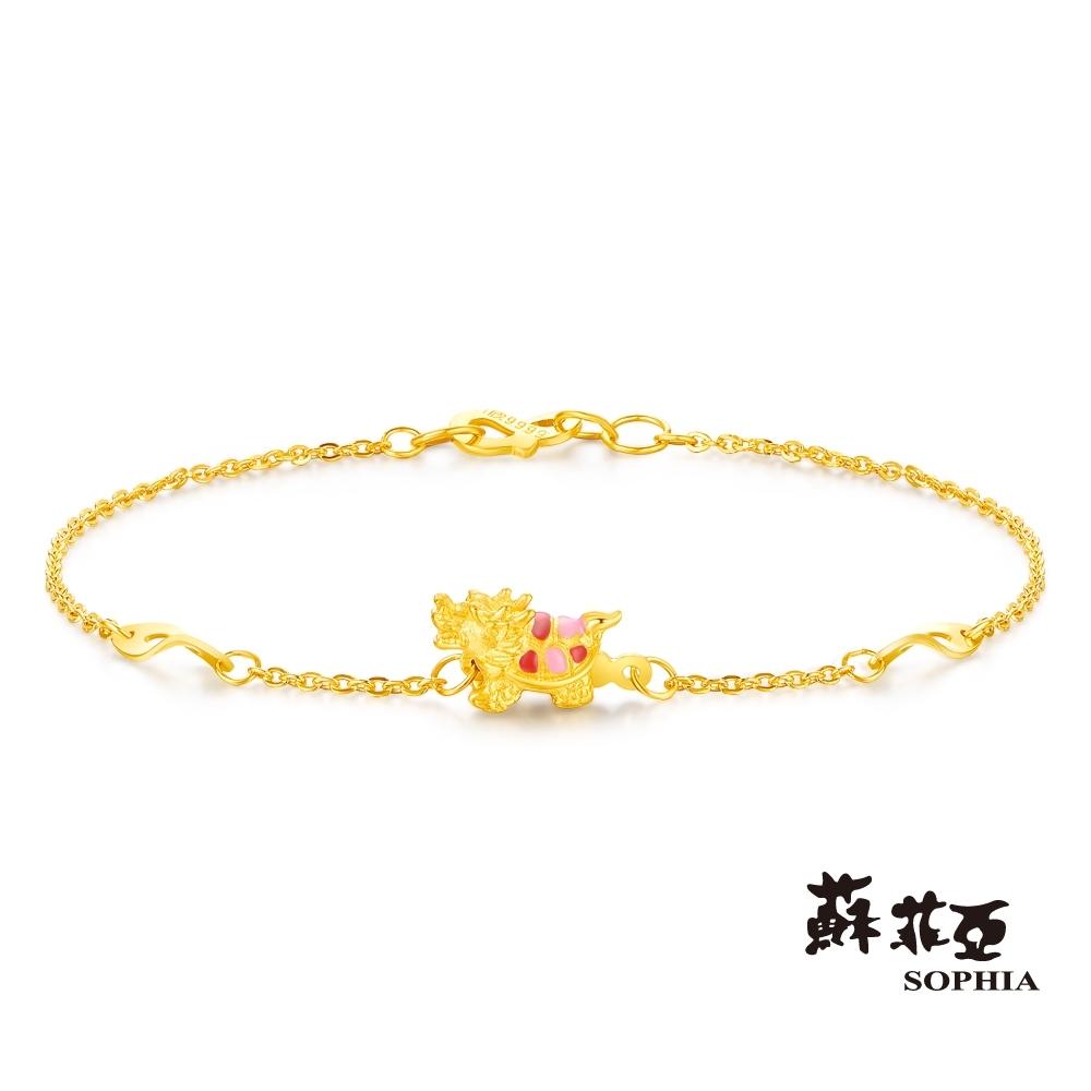 蘇菲亞SOPHIA - G LOVER系列金典龍龜黃金手鍊