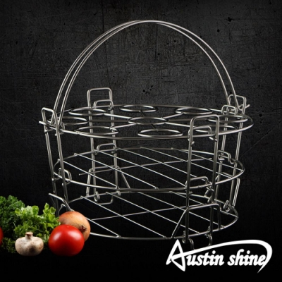 AustinShine 不鏽鋼三層蒸架組