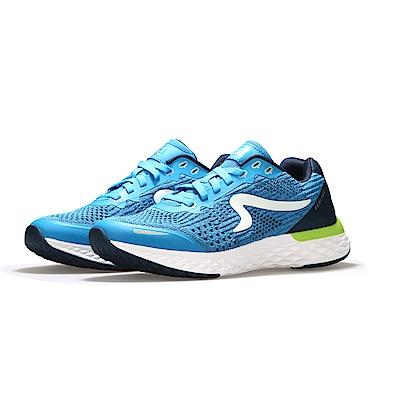 【ZEPRO】男子Q-RUN FEELING系列氫氣槽科技慢跑鞋-天藍