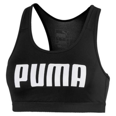 PUMA-女性訓練系列中衝擊運動內衣-黑色-歐規